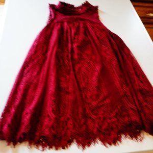 Coco + Jaimeson Sleeveless Lined Lace Top
